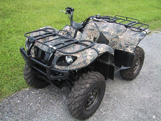 yamaha grizzly 660 atv quad camo fender cover kit new ebay. Black Bedroom Furniture Sets. Home Design Ideas