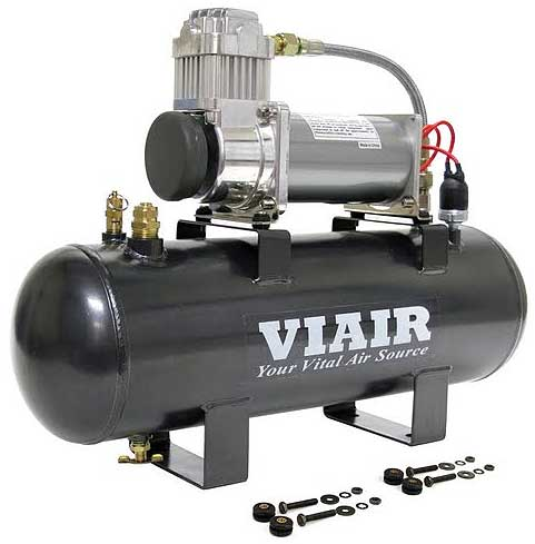 VIAIR 2.0 Gallon Fast-Fill 200 PSI 380C Compressor Air Source Kit