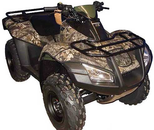 Honda Rincon ATV Camo Fender Cover Kit
