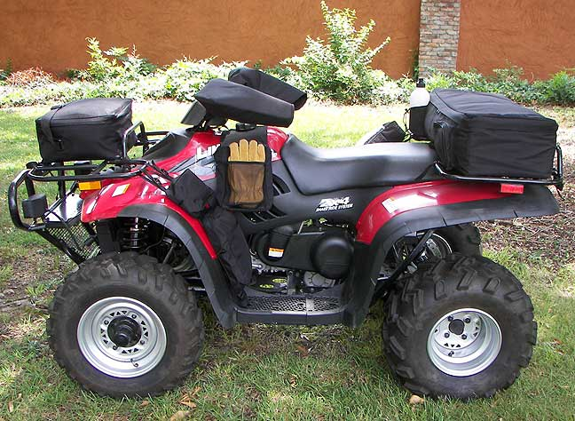 7 Piece Deluxe ATV/Quad Luggage Set