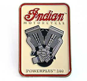 Indian Motorcycle 'PowerPlus 100' Lapel Pin