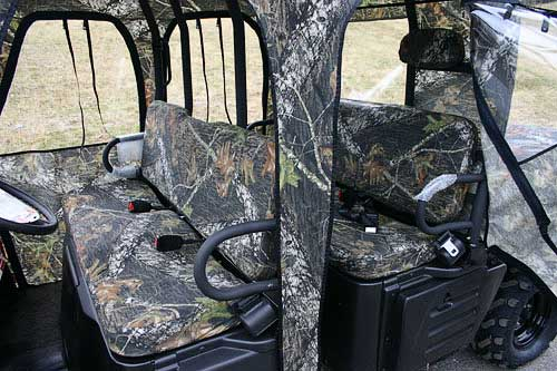 Polaris Ranger Crew Bench Seat and Headrest Covers Full Set