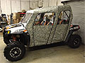 Polaris RZR4 Full Cab Enclosure