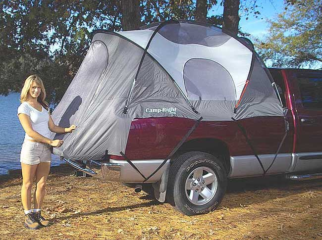 Camp-Right Truck Tent for Chevy Avalanche