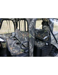 Polaris Ranger Crew Bench Seat and Headrest Covers Set