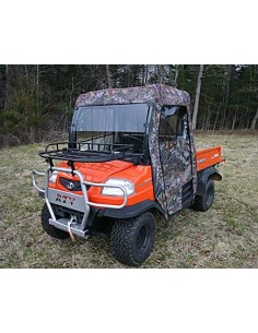 Kubota RTV 900 Hybrid Cab Enclosure with Lexan Windshield