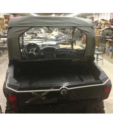 Can Am Commander Rear Windshield Windjammer