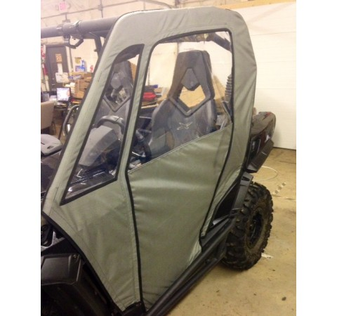 Can Am Commander Side Enclosures in Black, Camo or Grey