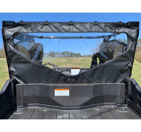 Honda Pioneer 1000 Side-by-Side Rear Windjammer with Windshield