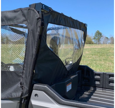 Honda Pioneer 1000 Side-by-Side UTV Rear Windjammer with Windshield