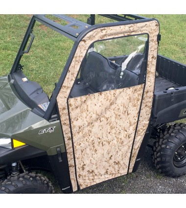 Polaris Ranger ETX/570/EV Side Enclosures (Mid Size) 2015-Newer
